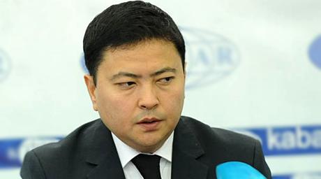 Қырғыз Республикасы экономика министрінің орынбасары Данил Ыбыраев. ©focus.kg