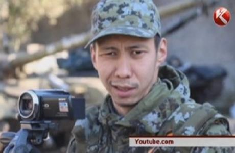 Украинадағы соғыста сепаратистер үшін қазақ жігіті соғысып жүр