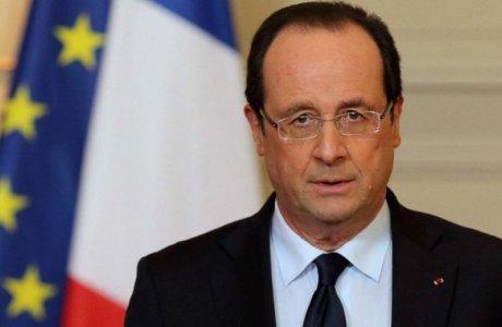 Франсуа Олланд. ©lekourrierderussie.com