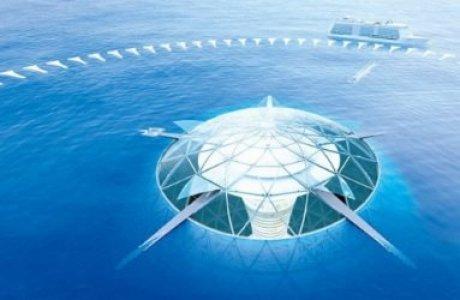 Жапондар су астында жүзетін қала салады