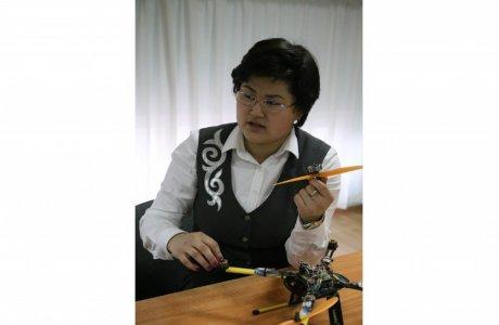 Мәдина ЕРКІНОВА, өнертапқыш: Жасаған тікұшағыма Мәскеу ғалымдары қатты қызықты